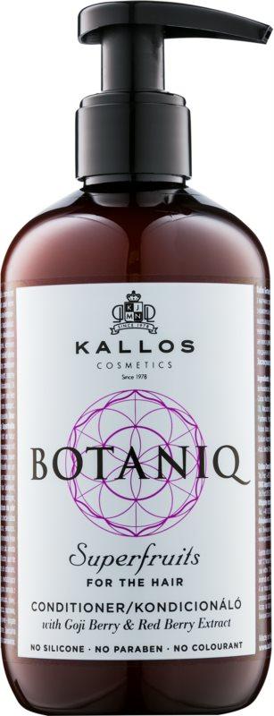 Kallos Botaniq Superfruits posilňujúci kondicionér s rastlinnými výťažkami bez sulfátov a parabénov