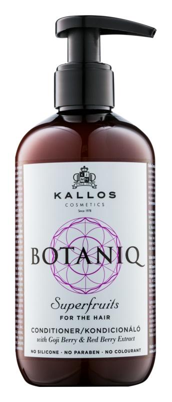 Kallos Botaniq Superfruits posilující kondicionér s rostlinnými výtažky bez sulfátů a parabenů