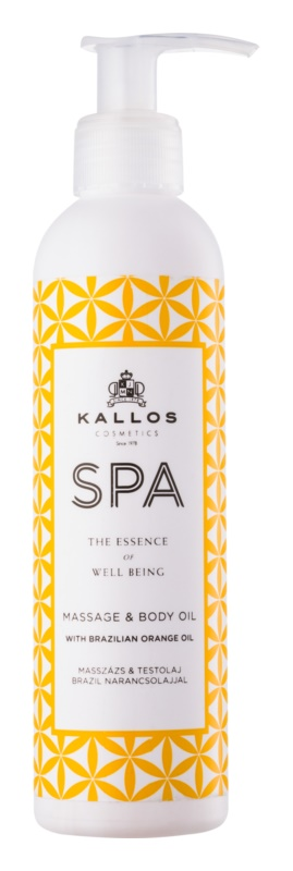 Kallos Spa masážny olej