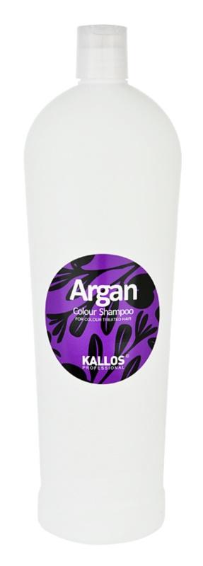 Kallos Argan szampon do włosów farbowanych