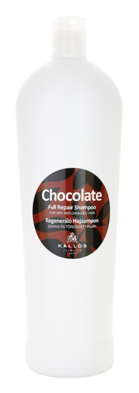 Kallos Chocolate Regenerating Shampoo for Dry and Damaged Hair