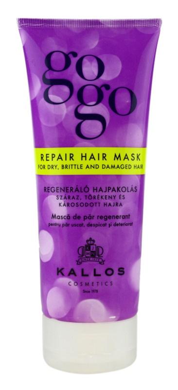 Kallos Gogo regenerační maska pro suché a poškozené vlasy