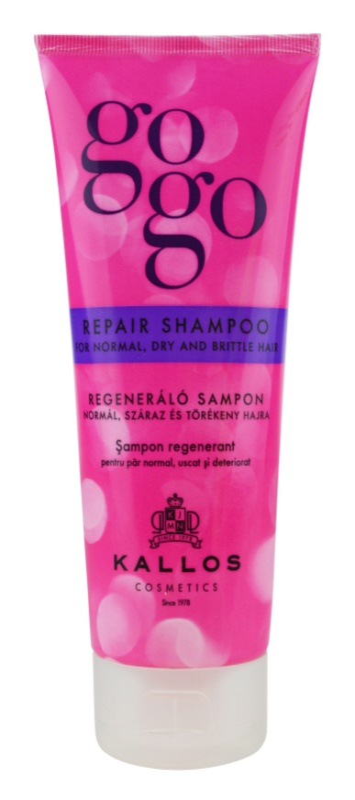 Kallos Gogo sampon regenerator pentru par uscat si fragil