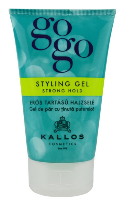 Kallos Gogo gel de cabelo fixação forte