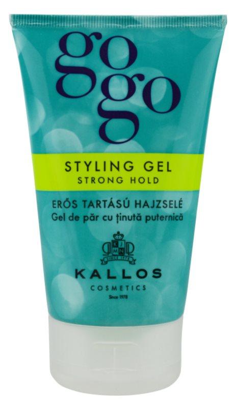 Kallos Gogo gel para el cabello fijación fuerte