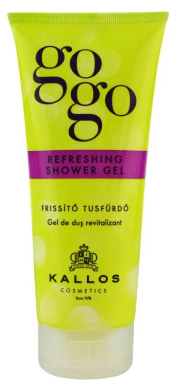 Kallos Gogo osvežujoč gel za prhanje