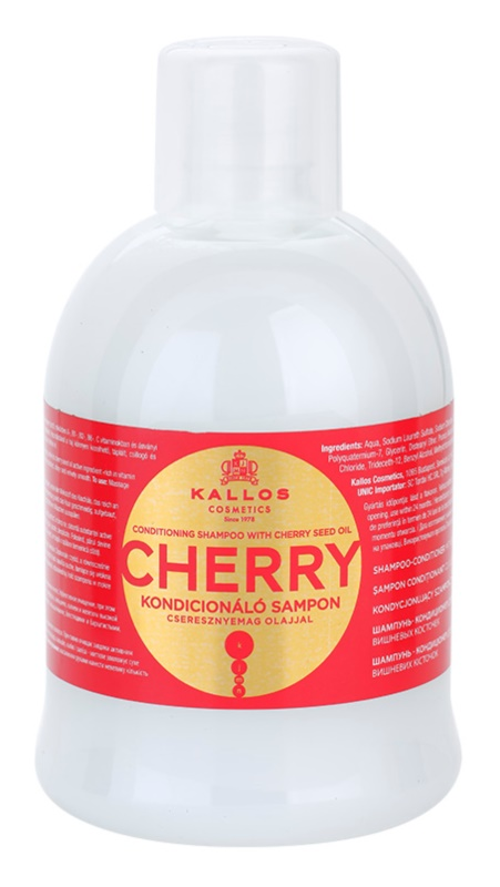Kallos KJMN Moisturizing Shampoo for Dry and Damaged Hair