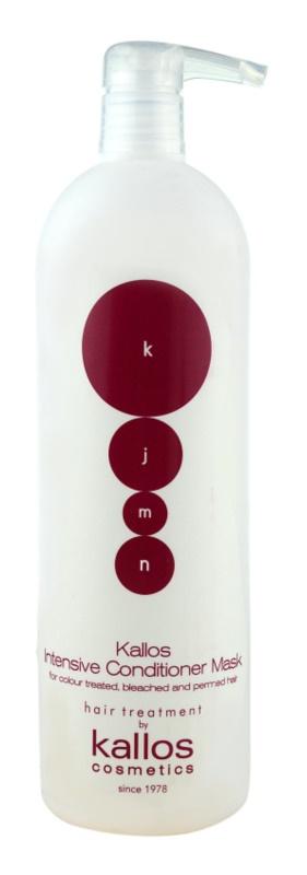 Kallos KJMN odżywka o silnym działaniu do włosów farbowanych