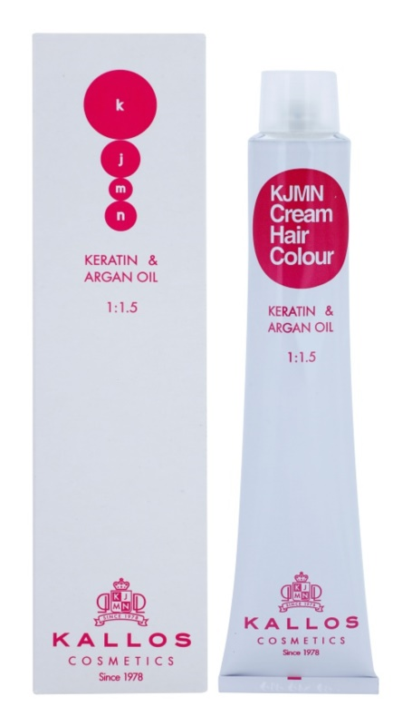 Kallos KJMN Haarfarbe mit Keratin und Arganöl