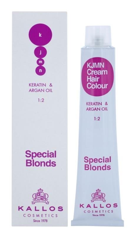 Kallos KJMN tinte de pelo