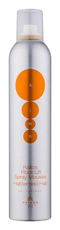 Kallos KJMN espuma de cabelo para dar volume