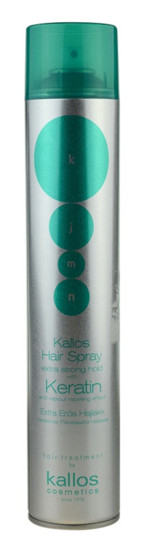 Kallos KJMN lakier do włosów z keratyną