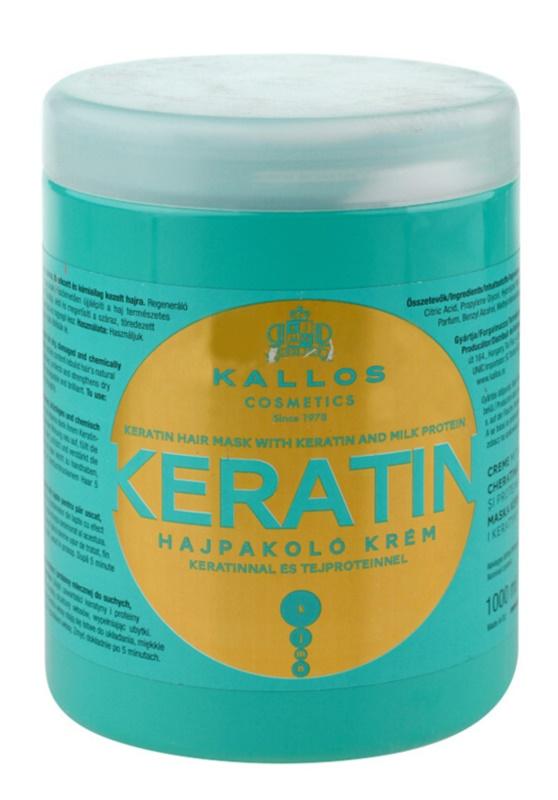 Kallos KJMN Mask With Keratin