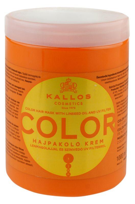 Kallos KJMN masca pentru par vopsit