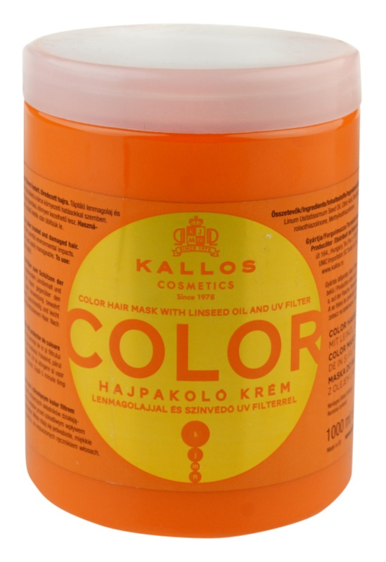 Kallos KJMN maska za barvane lase