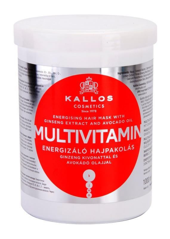 Kallos KJMN maschera per capelli energizzante