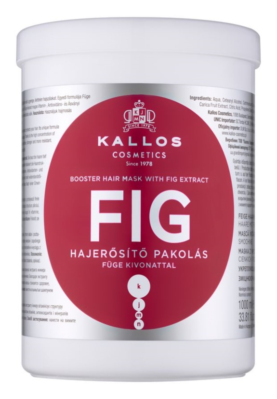 Kallos KJMN Mask For Weak Hair