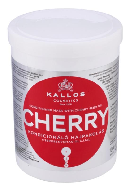 Kallos KJMN mascarilla hidratante para cabello maltratado o dañado