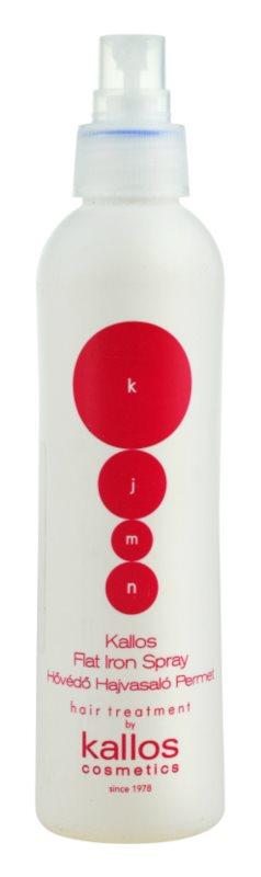 Kallos KJMN ochranný sprej pro tepelnou úpravu vlasů