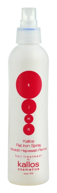 Kallos KJMN охоронний спрей термозахист для волосся
