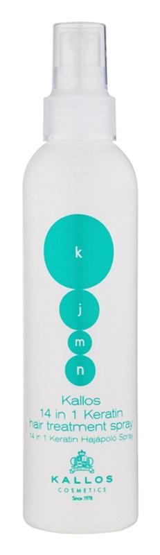 Kallos KJMN bezoplachová péče 14 v 1 s keratinem