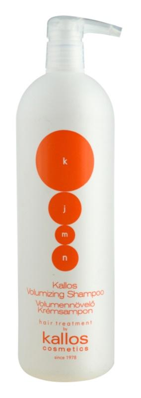 Kallos KJMN šampón pre objem