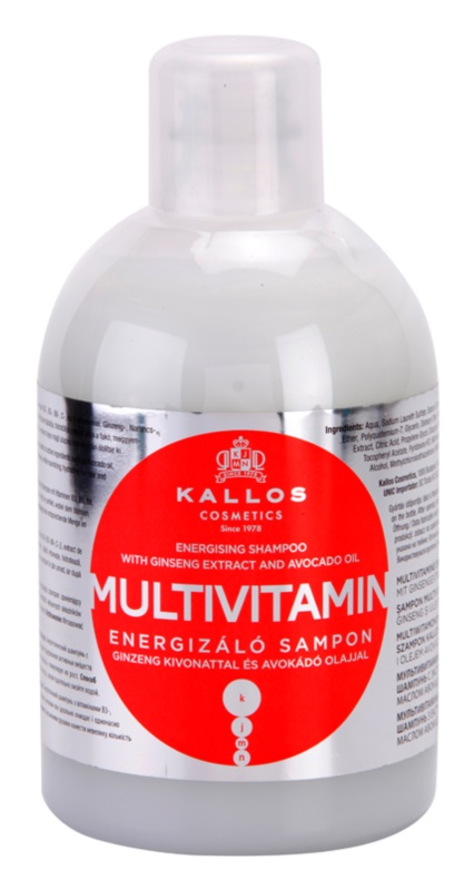 Kallos KJMN champô energizante