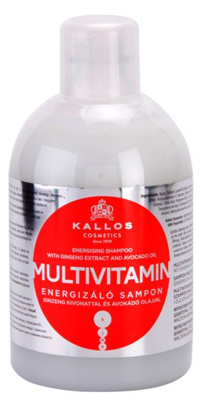 Kallos KJMN energizujúci šampón