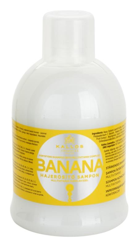 Kallos KJMN shampoo rinforzante con complesso multivitaminico