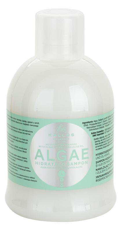 Kallos KJMN champú hidratante con extraco de algas y aceite de oliva