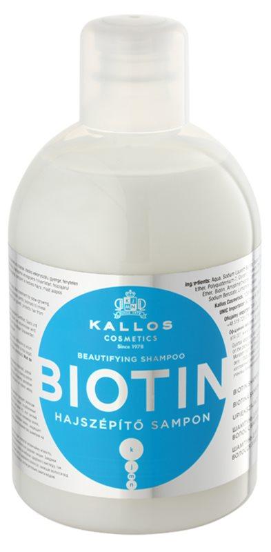Kallos KJMN Șampon pentru păr fin, slab și casant