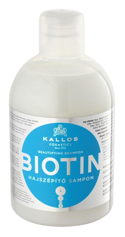 Kallos KJMN Shampoo for Fine and Weak Hair Prone to Breakage