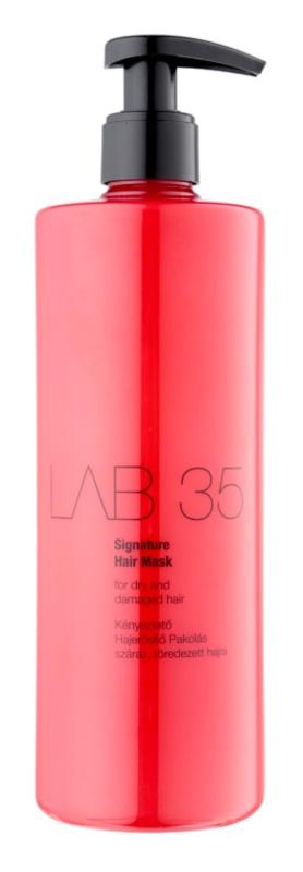 Kallos LAB 35 máscara para cabelo seco a danificado