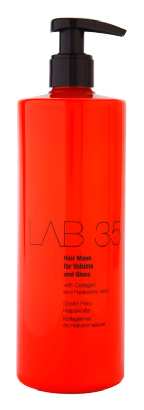 Kallos LAB 35 máscara capilar para volume e brilho