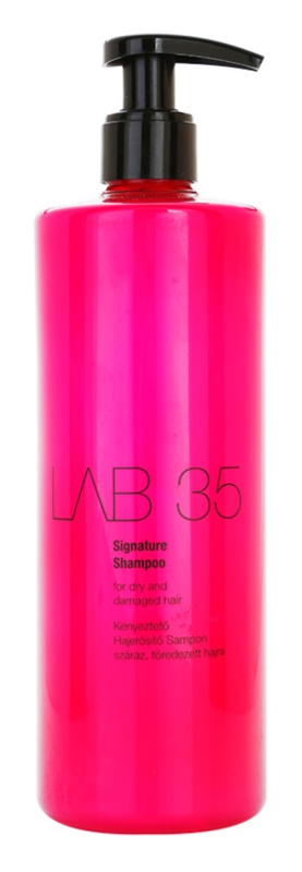 Kallos LAB 35 Regenerating Shampoo for Dry and Damaged Hair