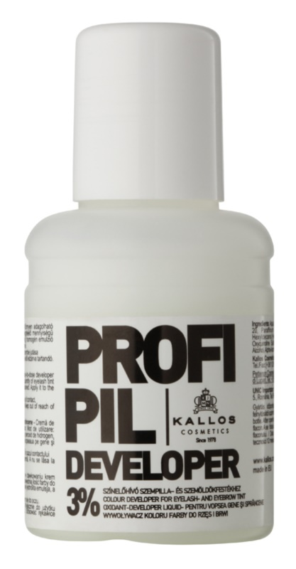 Kallos Profipil Activating Emulsion for Brow and Lash Dye