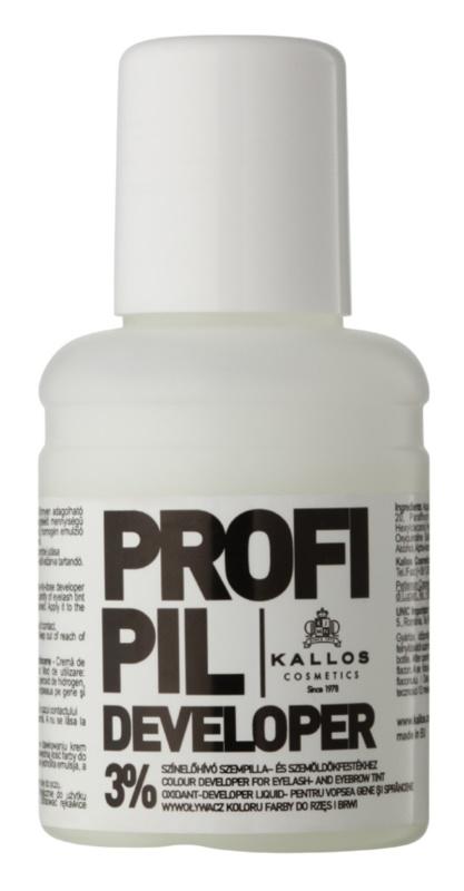 Kallos Profipil emulsión activadora para teñir las cejas y pestañas