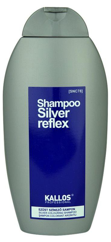 Kallos Silver šampón pre šedivé vlasy