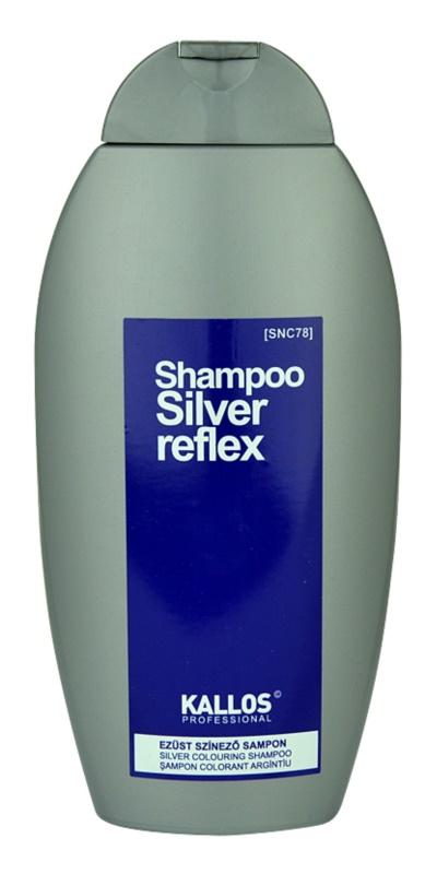 Kallos Silver szampon do włosów siwych