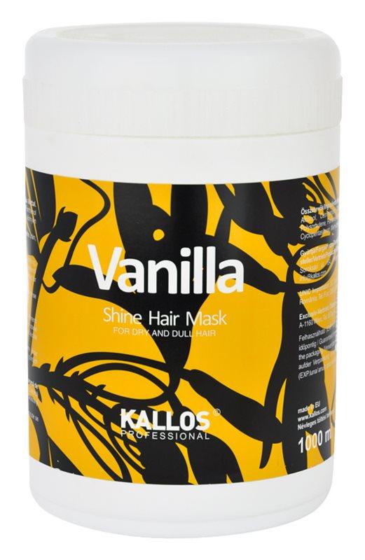 Kallos Vanilla Maske für trockenes Haar