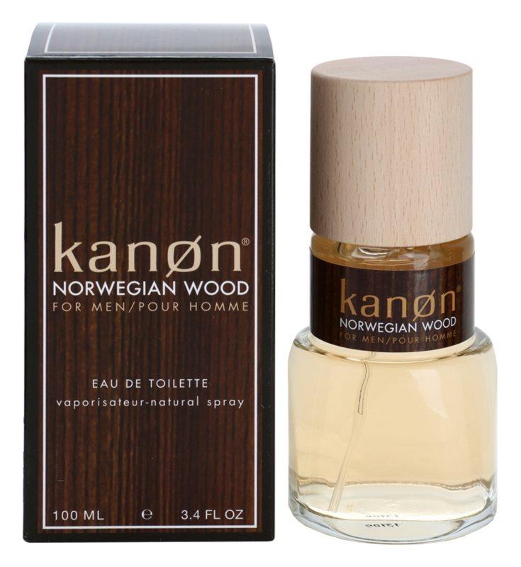 Kanon Norwegian Wood eau de toilette para hombre 100 ml