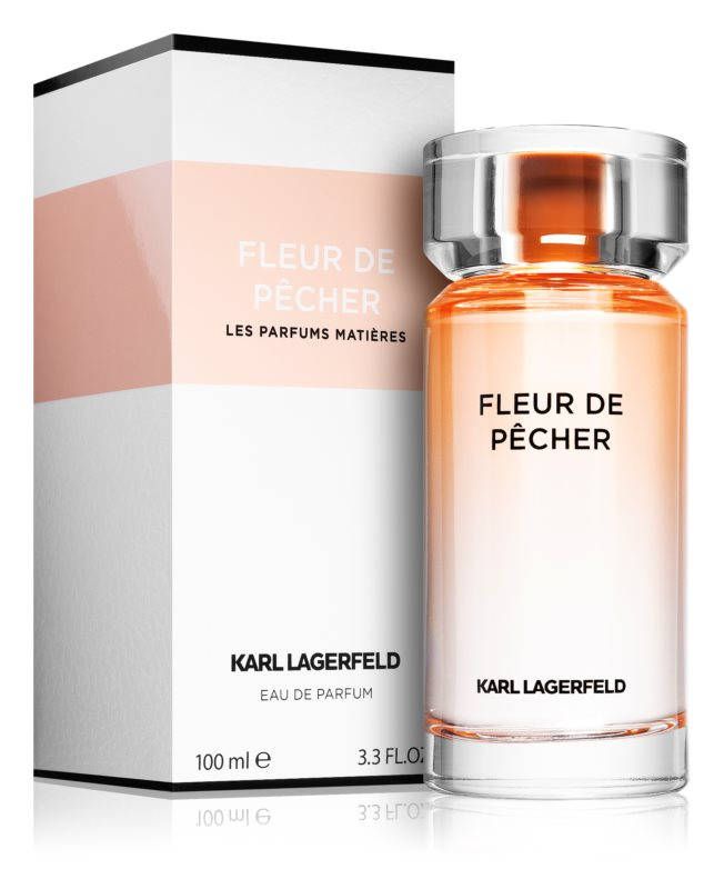 Karl Lagerfeld Fleur De Pecher Eau De Parfum Voor Vrouwen 100 Ml