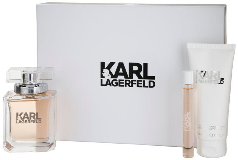 Karl Lagerfeld Karl Lagerfeld for Her set cadou III.