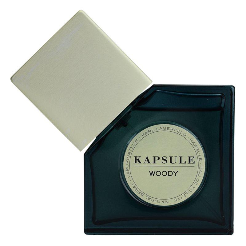 Karl Lagerfeld Kapsule Woody toaletní voda unisex 30 ml