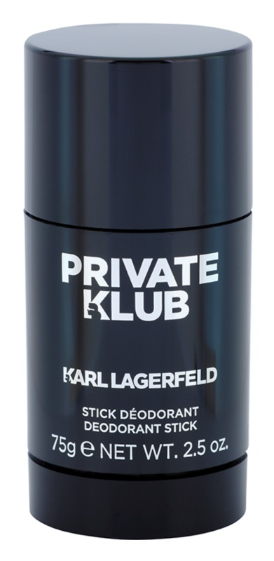 Karl Lagerfeld Private Klub Deodorant Stick for Men 75 g