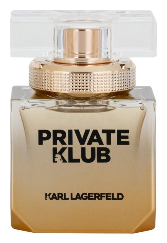 Karl Lagerfeld Private Klub eau de parfum pentru femei 45 ml