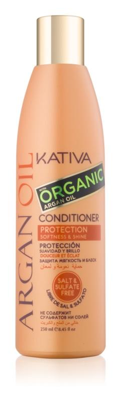 Kativa Argan Oil захисний кондиціонер для блиску та шовковистості волосся