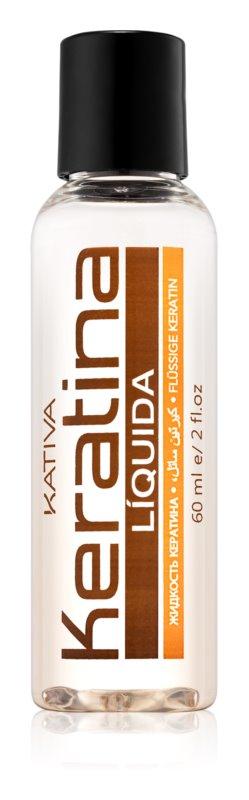 Kativa KATIVA Keratina vyživující olej na vlasy pro lesk a hebkost vlasů