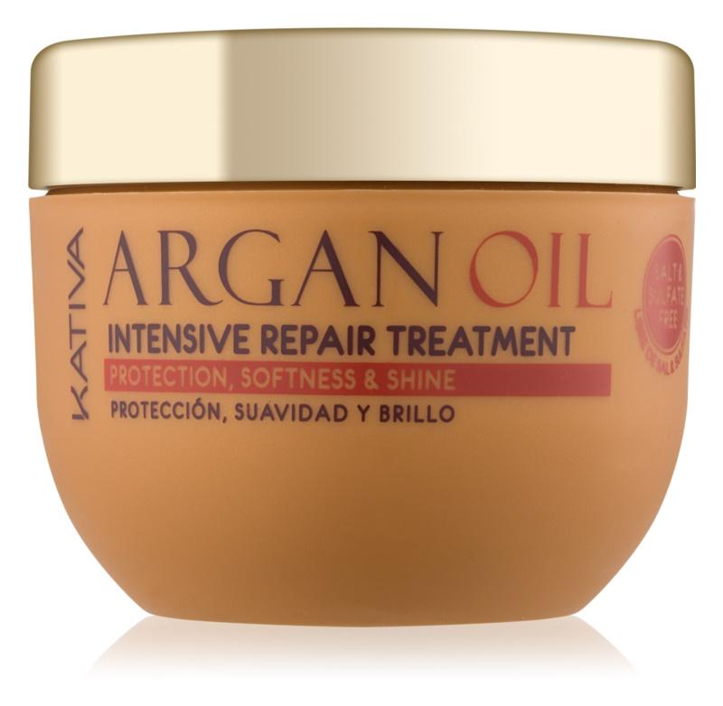 Kativa Argan Oil intenzivna regenerativna nega za sijaj in mehkobo las