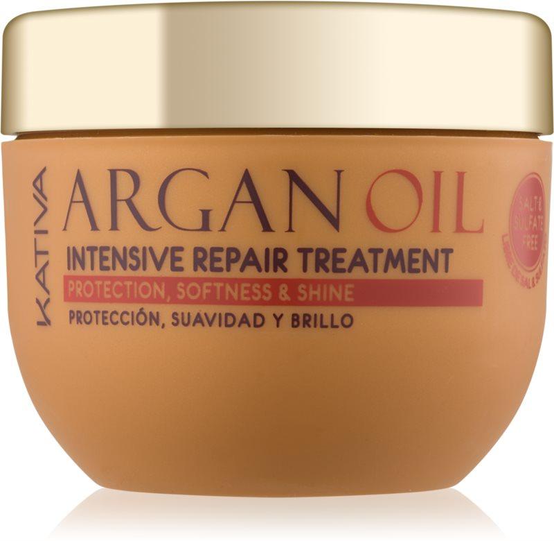 Kativa KATIVA Argan Oil intenzívna regeneračná starostlivosť na lesk a hebkosť vlasov